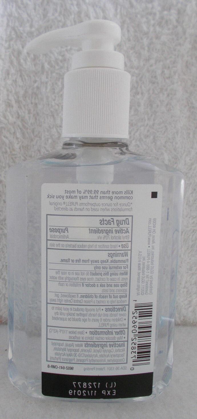 Purell Advanced Sanitizer 2X Gel Pump Bottles #1 Brand In Hospitals 8