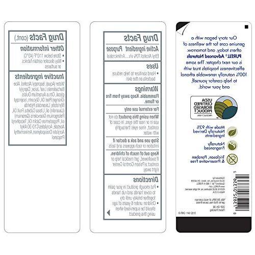 PURELL Naturals with Alcohol, Citrus fl oz - 3182-04-CMR