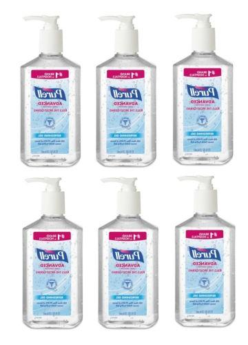 advanced hand sanitizer gel 12 fl oz