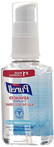 PURELL Advanced Hand Sanitizer Gel, Refreshing Fragrance, 2