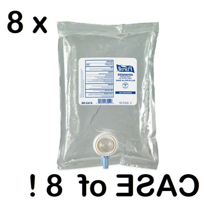 purell advanced hand sanitizer gel 8 x