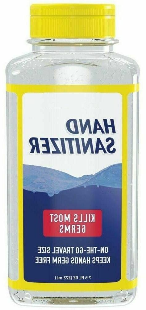 Advanced Hand Sanitizer Natural W/ Aloe Vitamin 75%