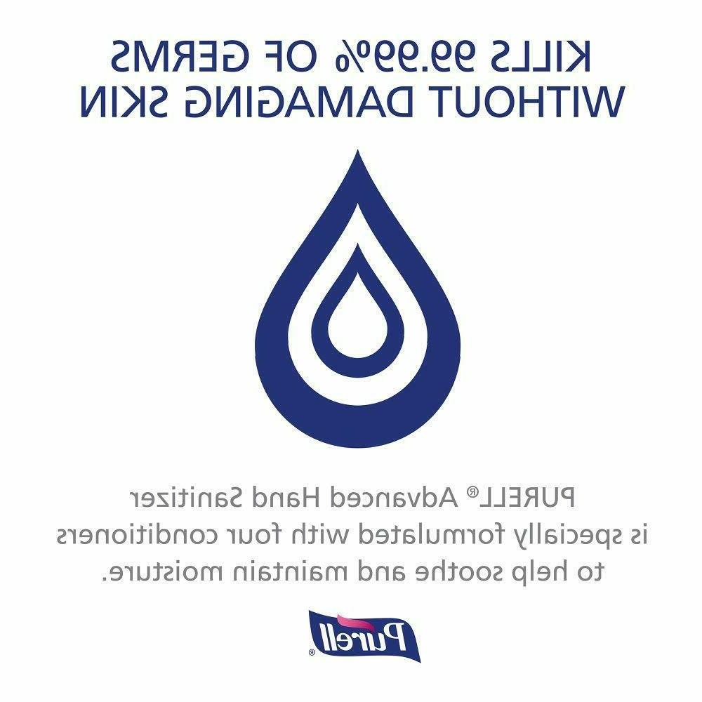 GOJO® Advanced Instant Hand Sanitizer 16 Flip Cap Alcohol