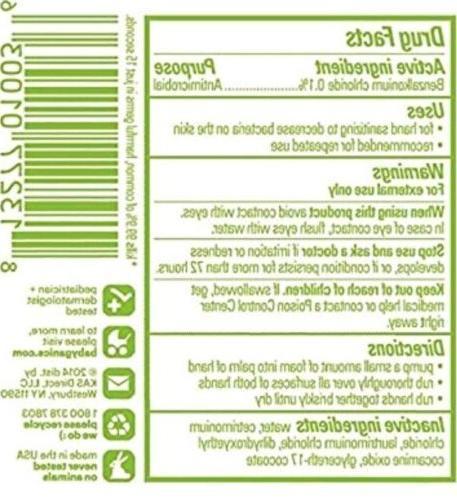 Babyganics Alcohol-Free Foaming Sanitizer, 50ml ONE Case 24