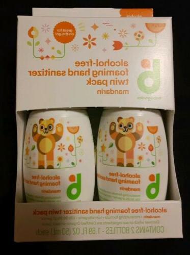 alcohol free foaming hand sanitizer mandarin 2