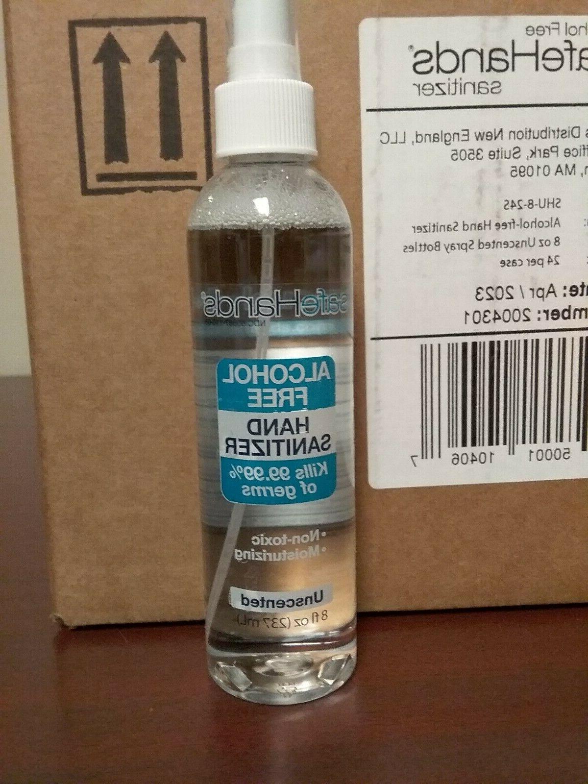 alcohol free spray hand sanitizer spray 8oz