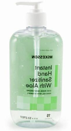 McKesson Brand Alcohol Gel Instant Hand Sanitizer w/Aloe 15o