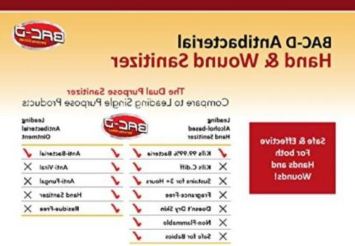 BAC-D Alcohol Free Sanitizer Care 1 128oz, Pack