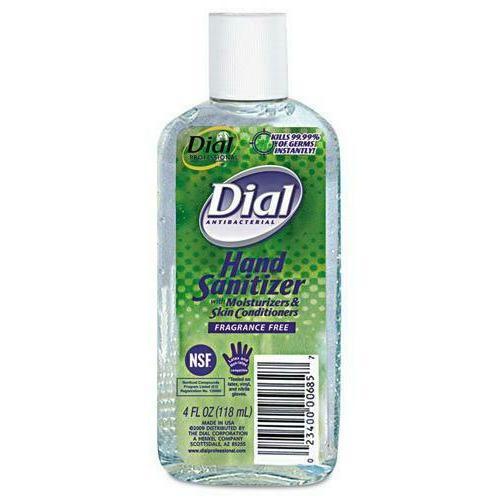 antibacterial hand sanitizer gel fragrance free