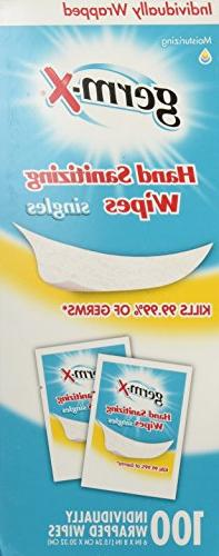 Germ-X Sanitizing Wipes, Count