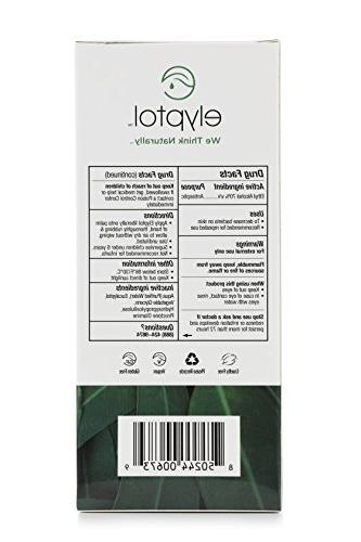 Elyptol Sanitizer Action Moisturizer Formulated Eucalyptus Oil & Kills 99.9999% Germs Bottle,
