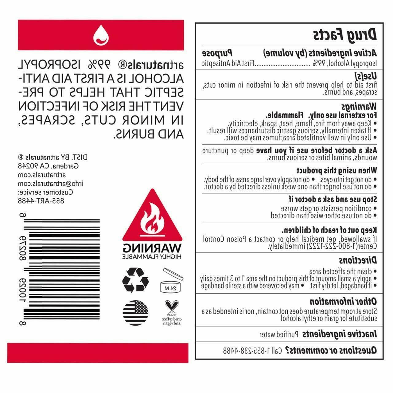 ArtNaturals Isopropyl - 1