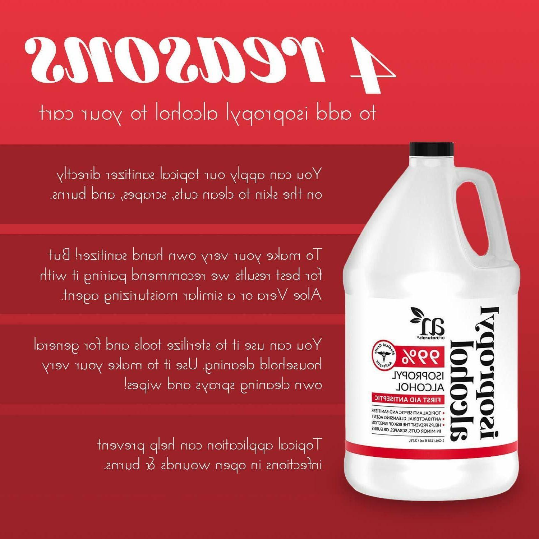 ArtNaturals Rubbing Isopropyl Alcohol - Pure 1