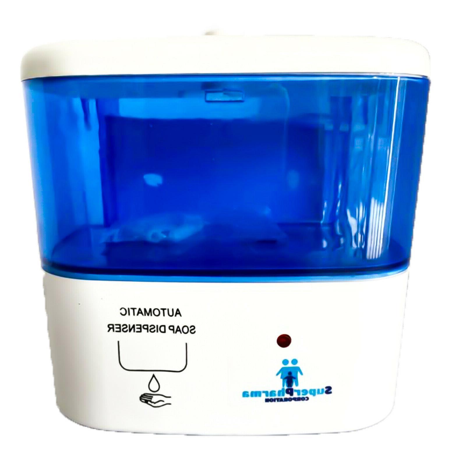 automatic dispenser sanitizer hands touchless liquid soap