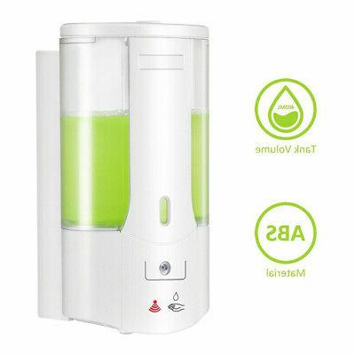 Automatic Soap Sanitizer Hands-Free IR Kitchen