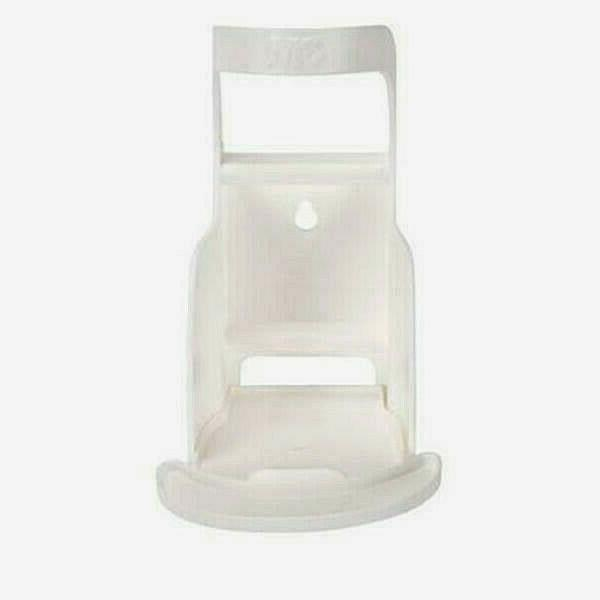 avagard wall bracket white hand sanitizer dispenser