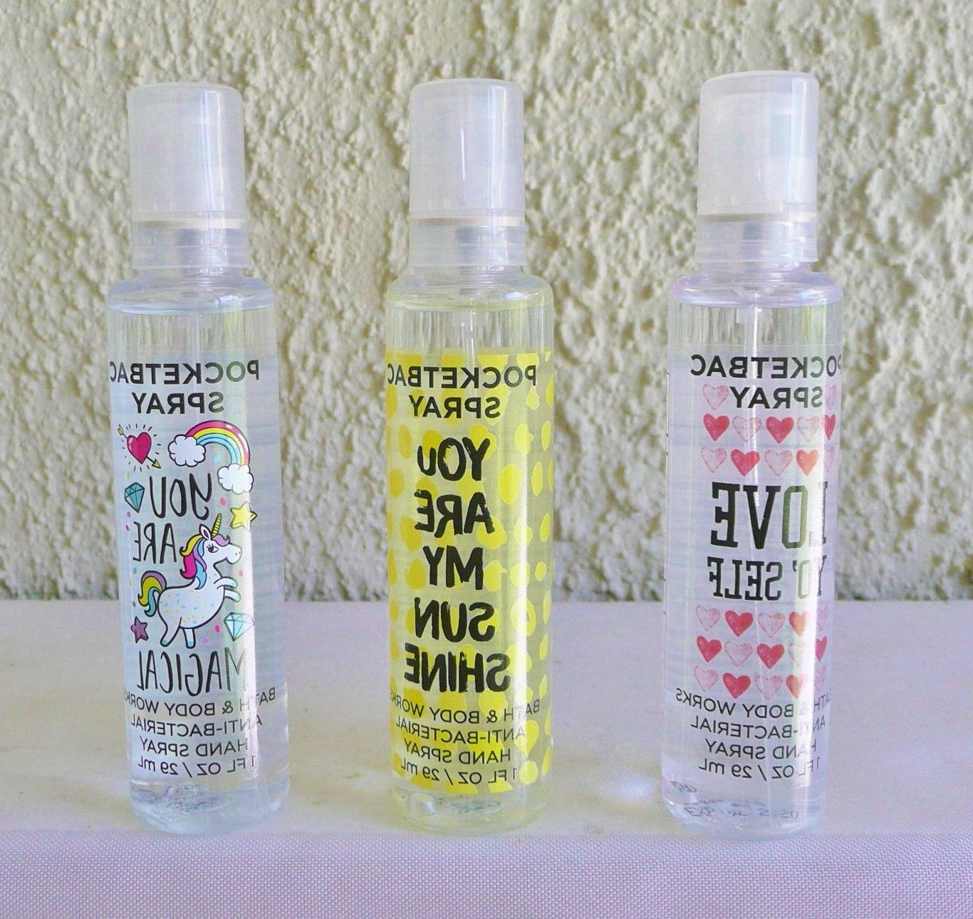 Bath Works NEW Pocketbac Spray