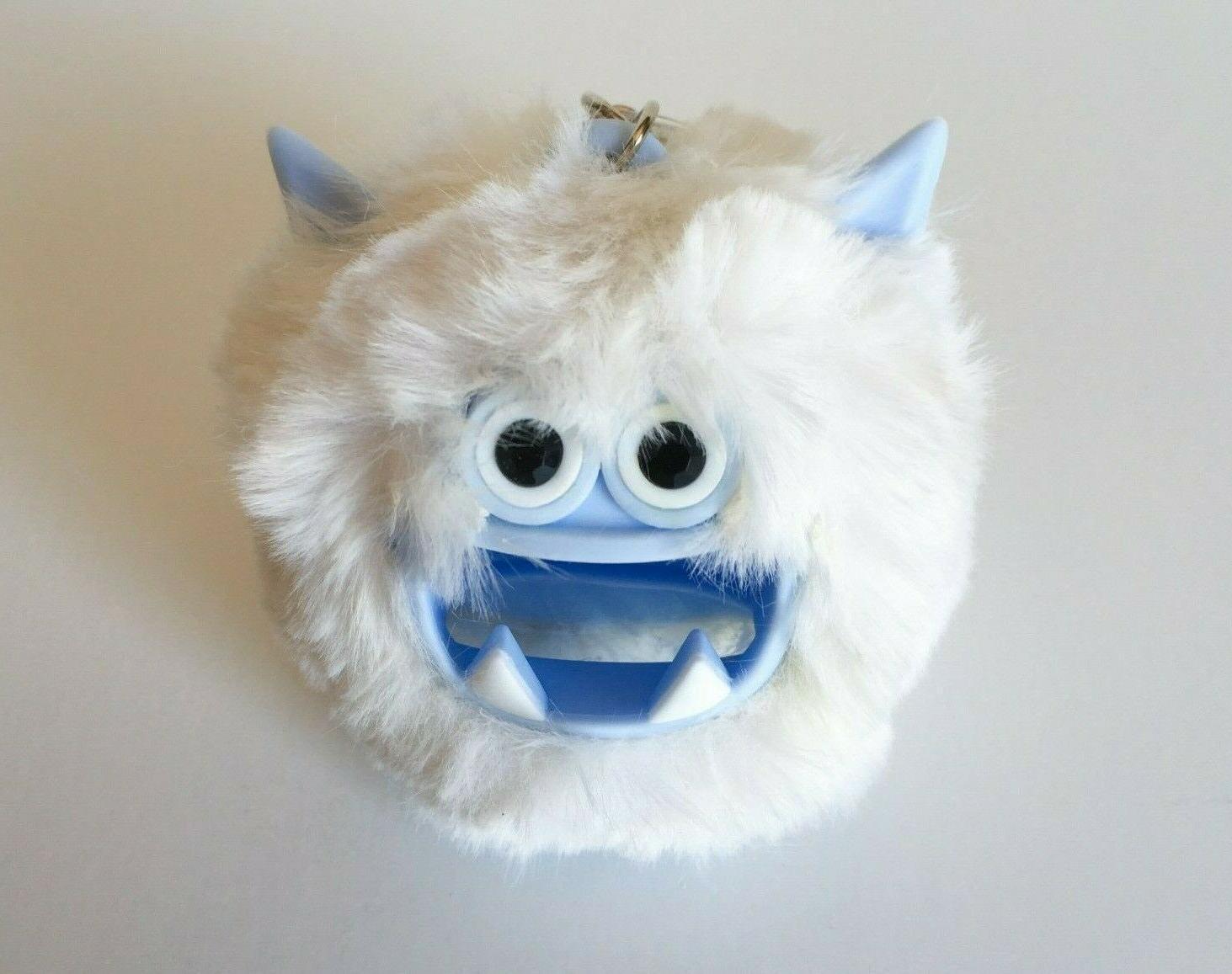 Bath YETI Fuzzy White Pocketbac Sanitizer Holder Sleeve
