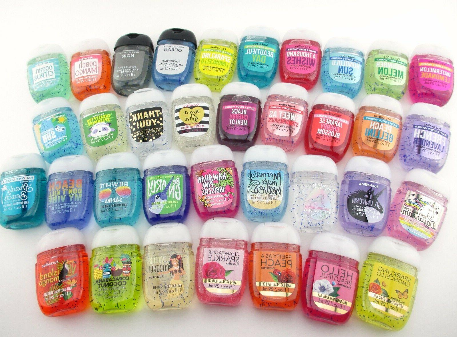 Bath Body PocketBac Sanitizer Anti-bacterial 1oz Pick Your Scent