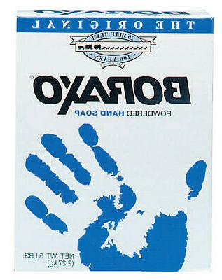 boraxo powdered hand soaps unscented box