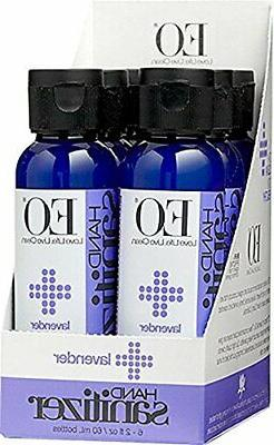EO Botanical Hand Sanitizer Gel, Lavender, 2 Ounce