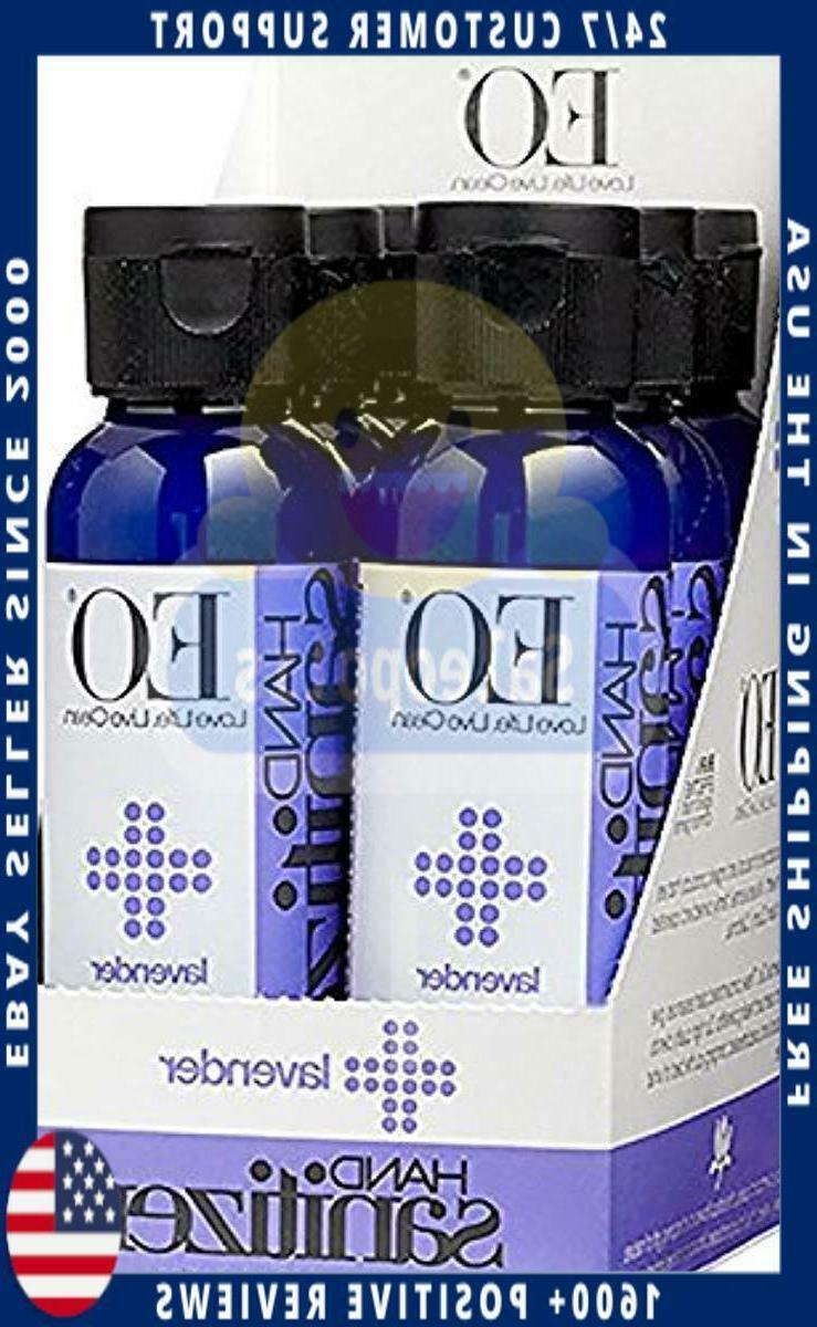 botanical hand sanitizer gel lavender 2 ounce