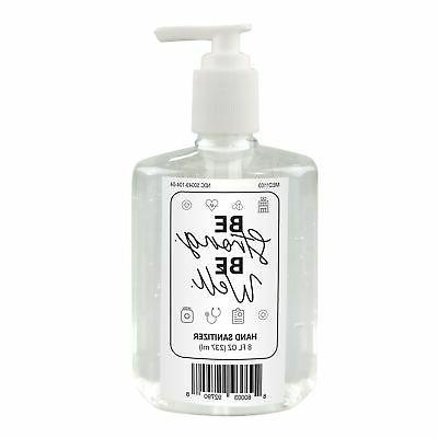 brands group spp gel hand sanitizer 8oz