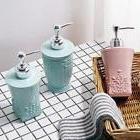 Carving Shower Gel Hand Sanitizer Split Lotion Container Soa