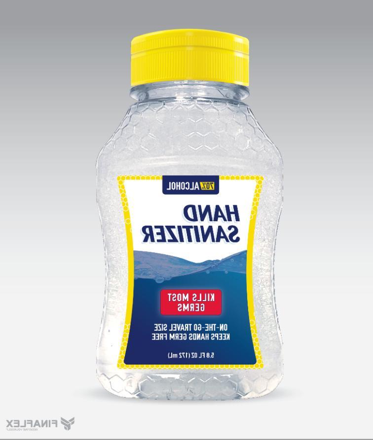 Hand Sanitizer 5.8 Ounces 70%Alcohol USA Made by FinaFlex Tr