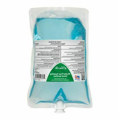 clario alcohol free foaming hand sanitizer 1000