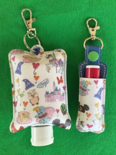 Custom Made Lip Balm & Hand Sanitizer Holder Disney Dooney S