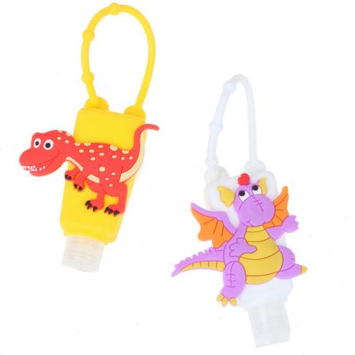 Cute Silicone Hand Sanitizer Pocketable With Empty BoRKUS