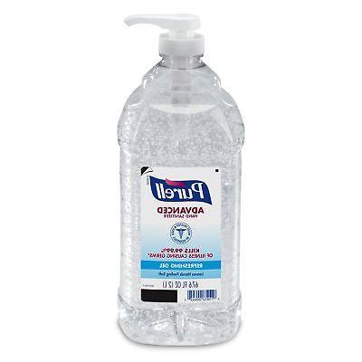 PURELL Advanced Refreshing Clean Scent, Liter pump