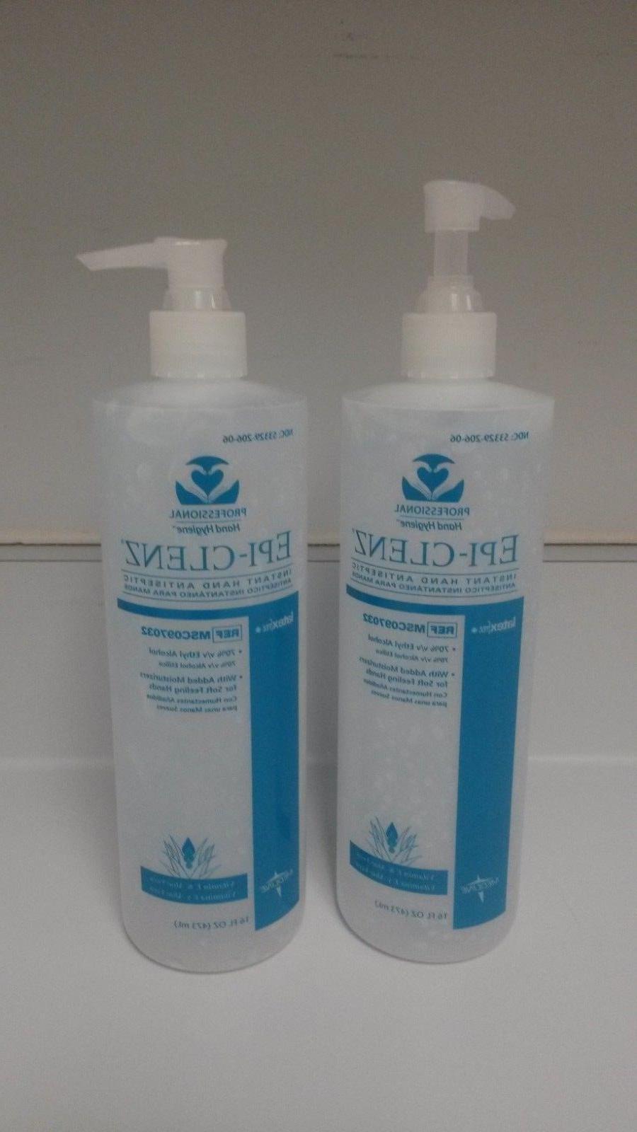 epi clenz instant hand antiseptic sanitizer gel