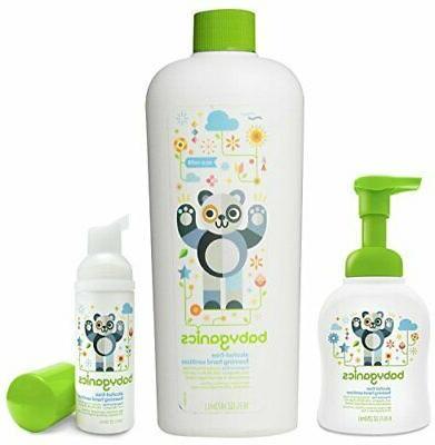 foam hand sanitizer with refill bottle