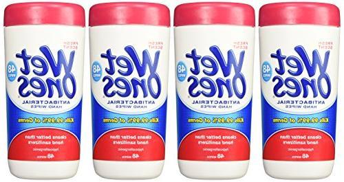 Wet Antibacterial Hand Count 5