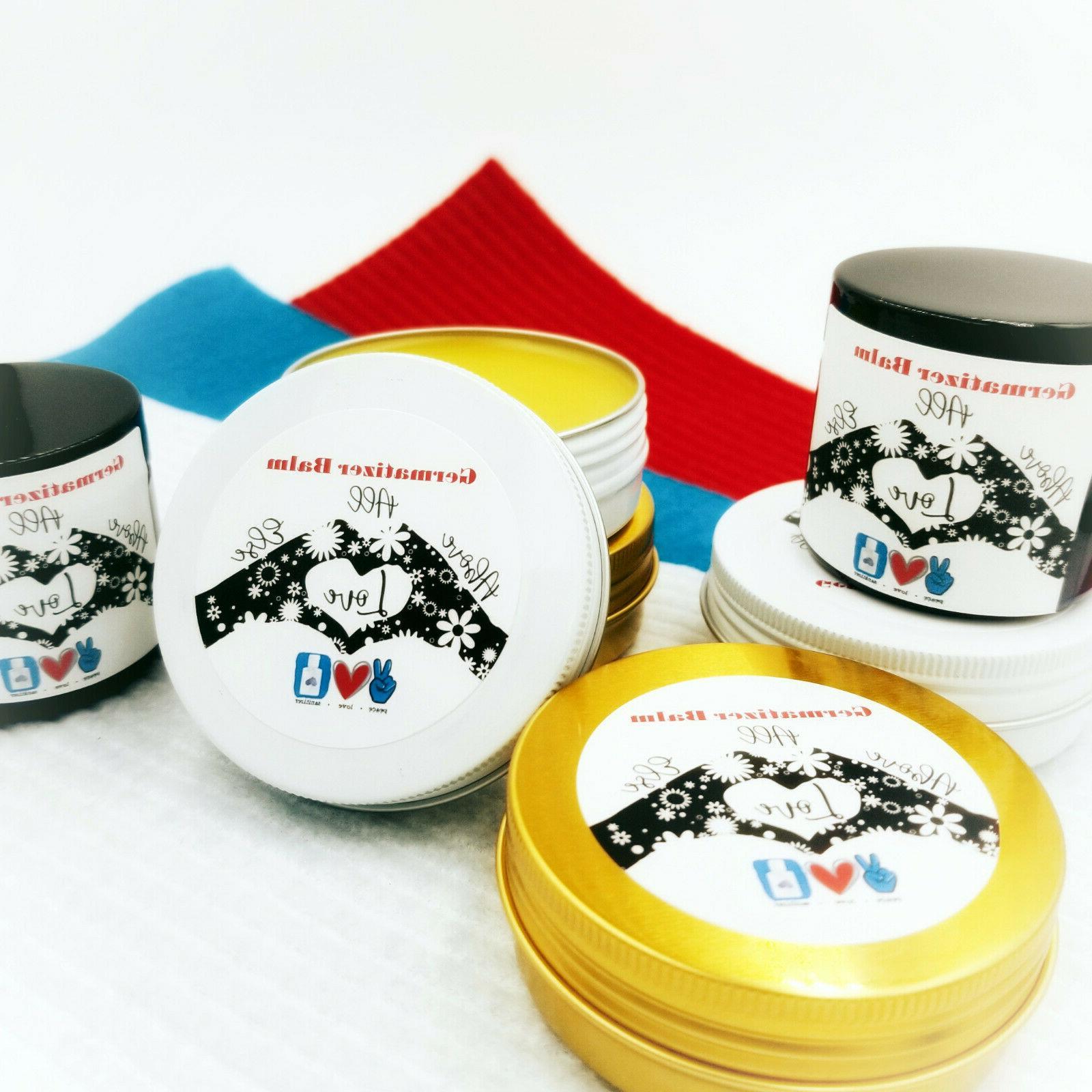New Germ Sanitizer Balm For Salve 2.7 oz Wt.