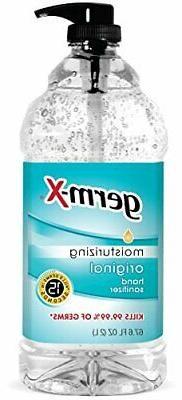 Germ-X 1000043753 Original Hand Sanitizer, 67.6 oz.