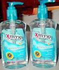 Germ-X Moisturizing Hand Sanitizer x 2 Blue Bottle 10 oz Pum