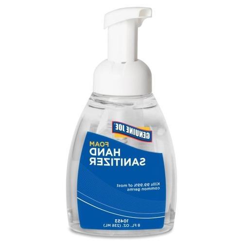 Genuine Joe GJO10453 Foaming Hand Sanitizer- Pump Bottle- 8