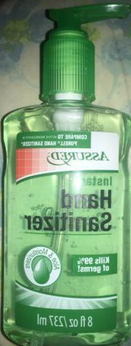 hand cleanser sani 8 oz bottle fast