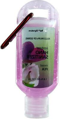 Le Vital Hand Sanitizer 1.8 oz with Clip - Sweet Pea Case Pa