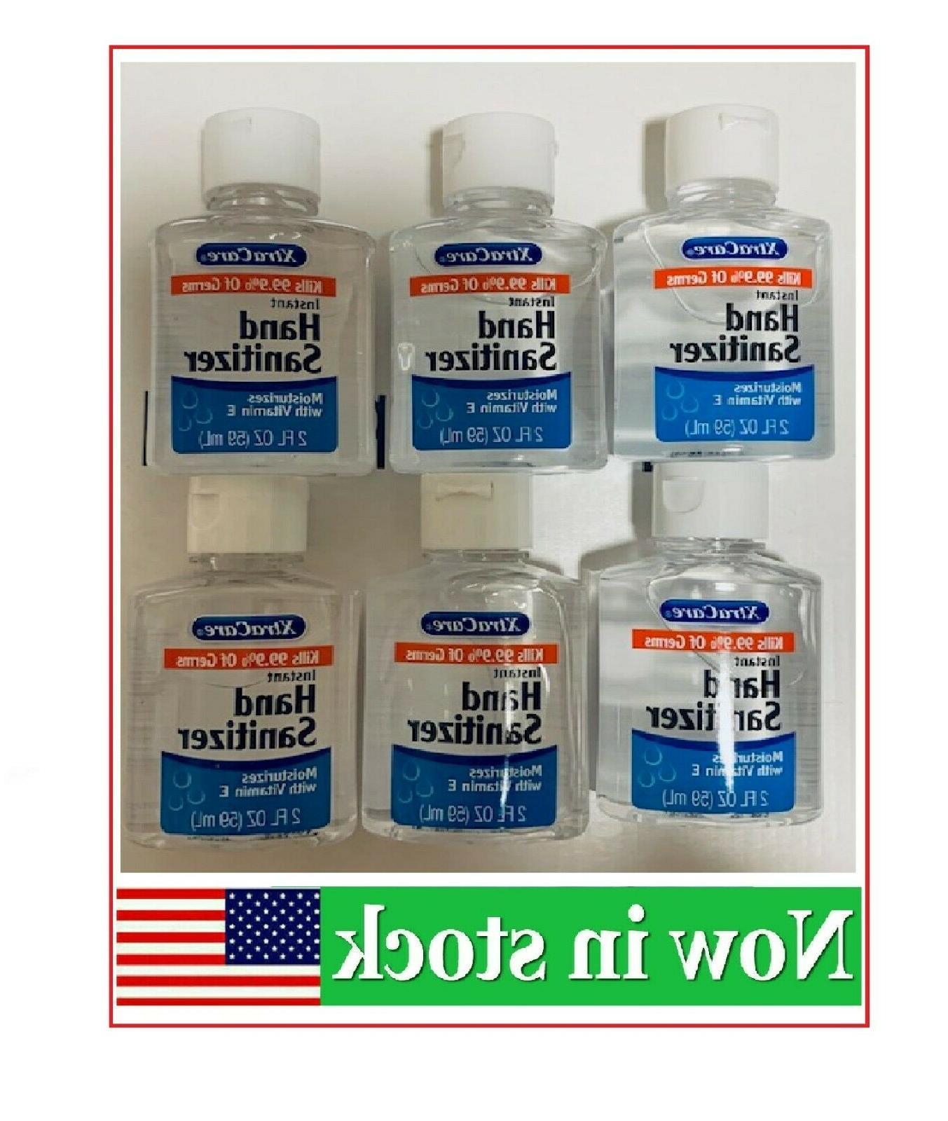 hand sanitizer 6 pack of 2oz bottles