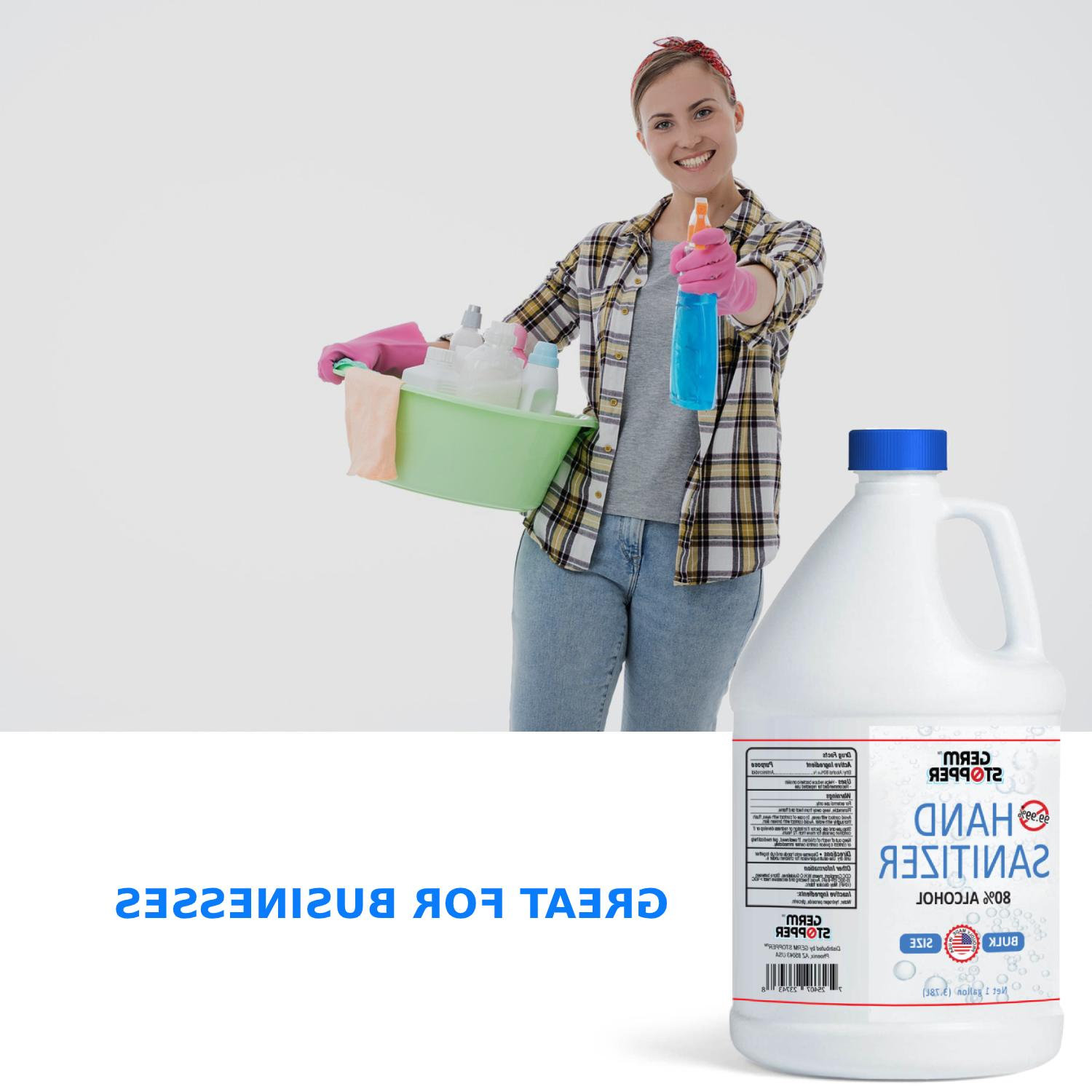Hand Sanitizer Antimicrobial Alcohol - / 1