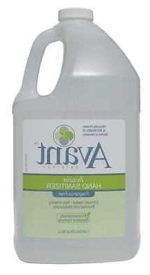 AVANT 12089-128-FF Hand Sanitizer,Bottle,Size 1 gal.