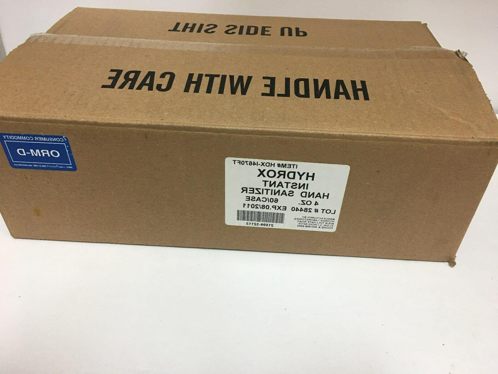 HYDROX Case Of Bottles 08/2011 Anti-Bacterial