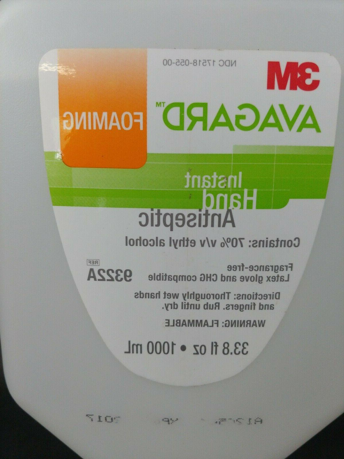 3M Refill Alcohol 9322A 33.8 oz 1000ml