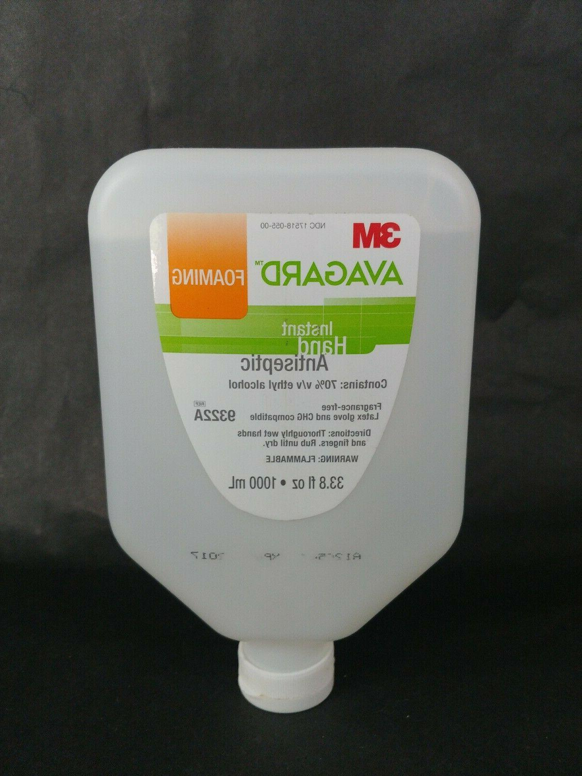 hand sanitizer cleaner refill avagard alcohol ethyl