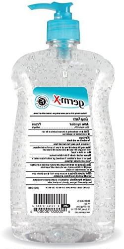 Germ-X Hand Sanitizer, Pump Bottle, Fluid