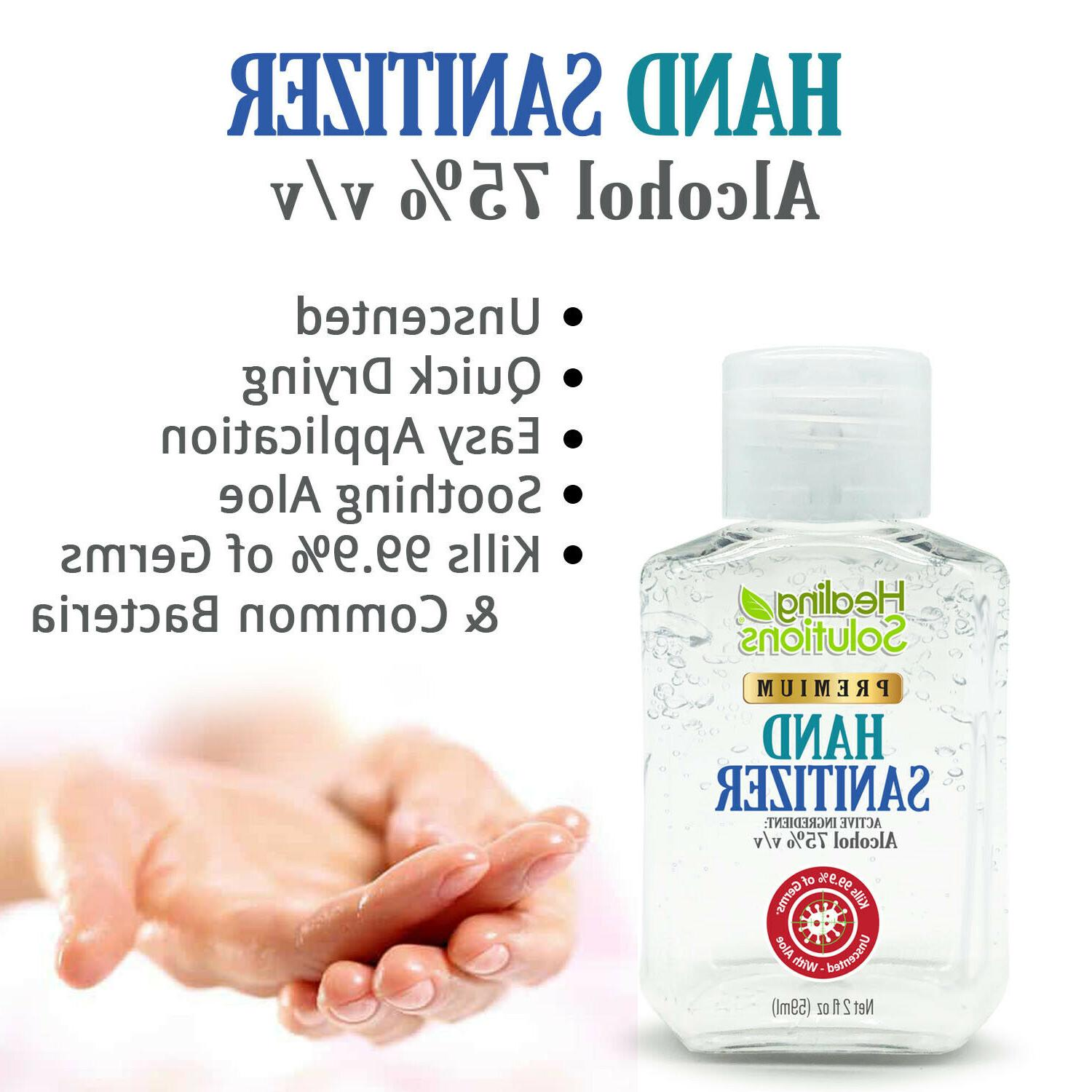 Hand Gel Alcohol Standards Scent-Free PACK